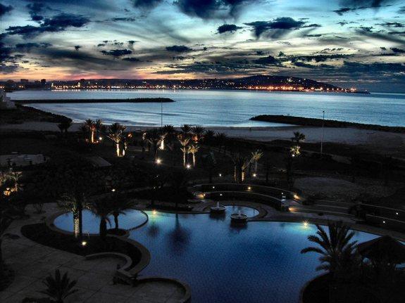 Night sky in Tangier   Agraria