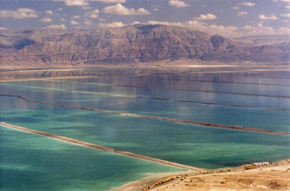 Dead Sea Salt Pans   Agraria